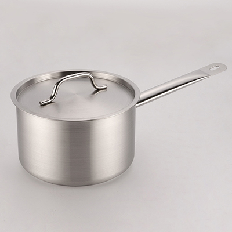 Stainless steel composite bottom high body juice pot 1